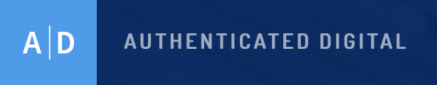 Authenticated Digital Logo